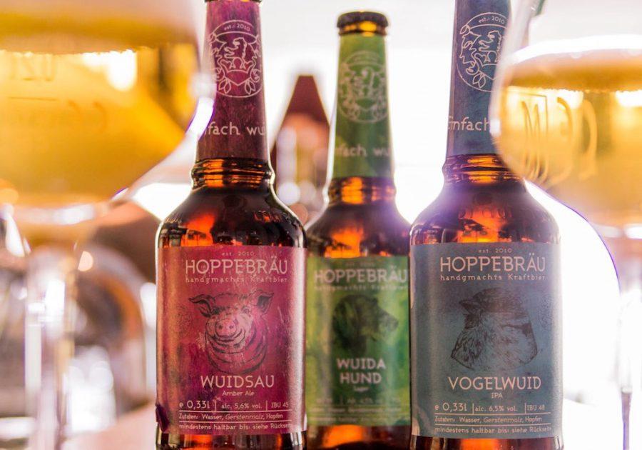 Craft Bier von Hoppebräu